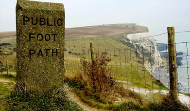 Acorn Tourism audit the public footpath signs along Kent's coast and in Dover Town to help improve the visitor experience.