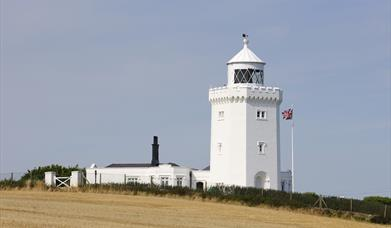 North Foreshore Lighthouse at Broadstairs is one of the Kent coast's landmarks and just one of the many assets mapped for Kent Coastal Action for Sust